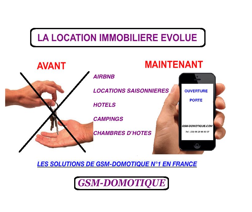 Fini-la-corvée-de-remise-des-clés-location-immobilère-par-GSM-DOMOTIQUE