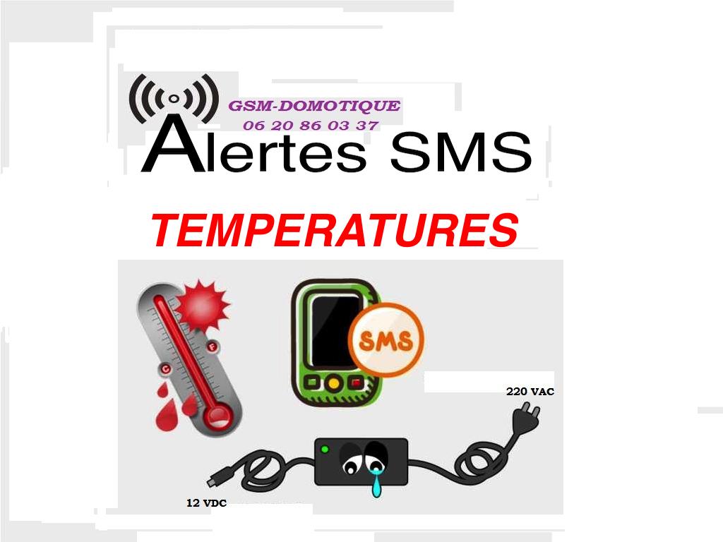 Chambres froides températures