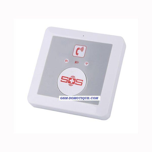 Appel SOS urgence par GSM