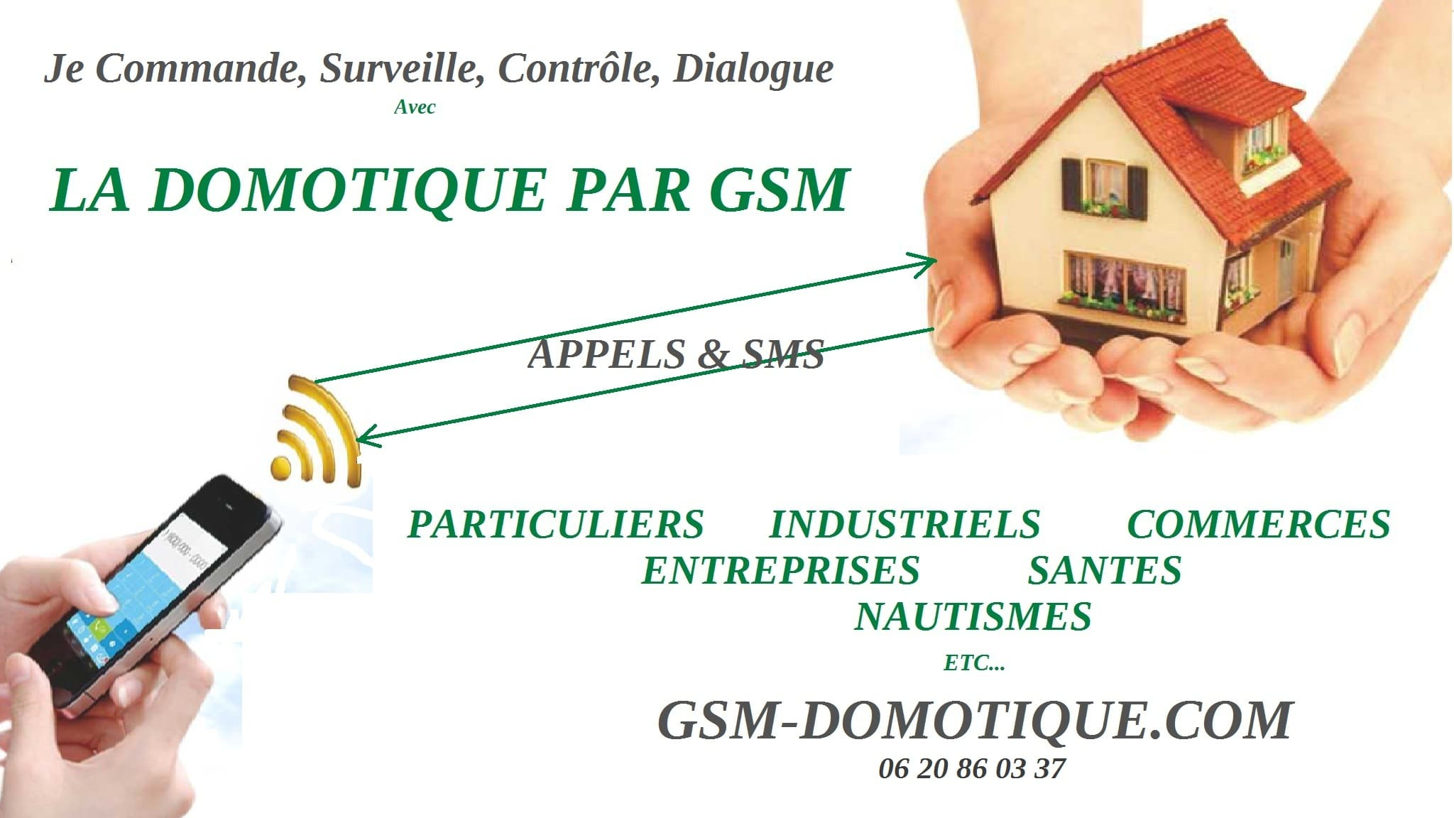 domotique par GSM