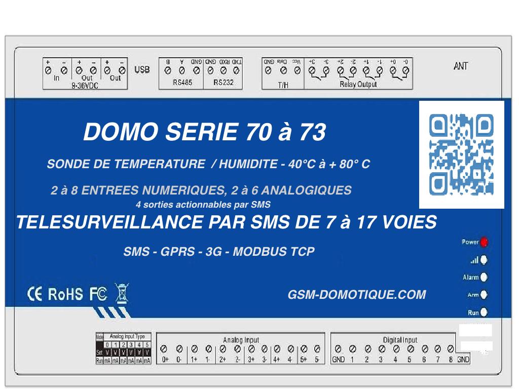 TELESURVEILLANCE -PAR SMS- 17 VOIES