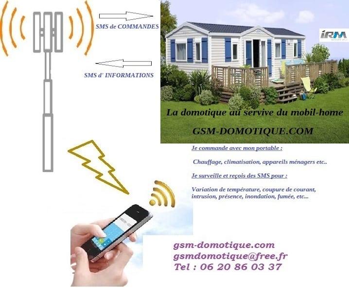 Centrale domotique ou controleur GSM