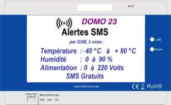 DOMO23 surveillance de température