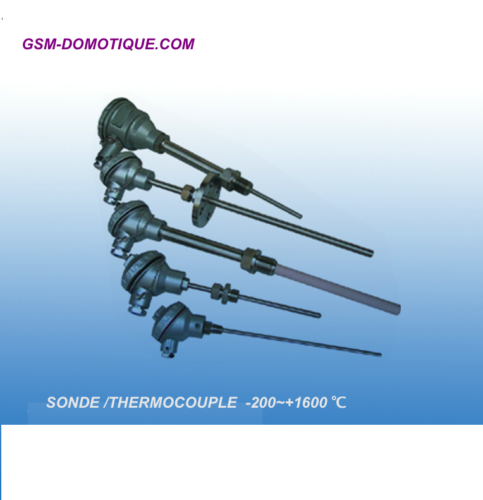 sonde de temperature - 200 + 1600 °C