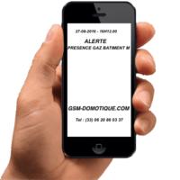 MODULE GSM INDUSTRIEL 8 entrées - DOMO 150