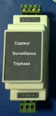 CAPTEUR DE SURVEILLANCE TRIPHASE