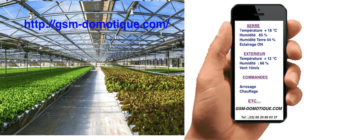 La domotique GSM au service de l'agriculture