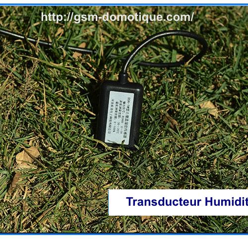 TRANSDUCTEURS HUMIDITE SOL