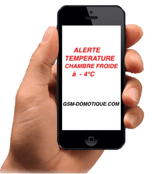 Contrôle et régulation de température à distance