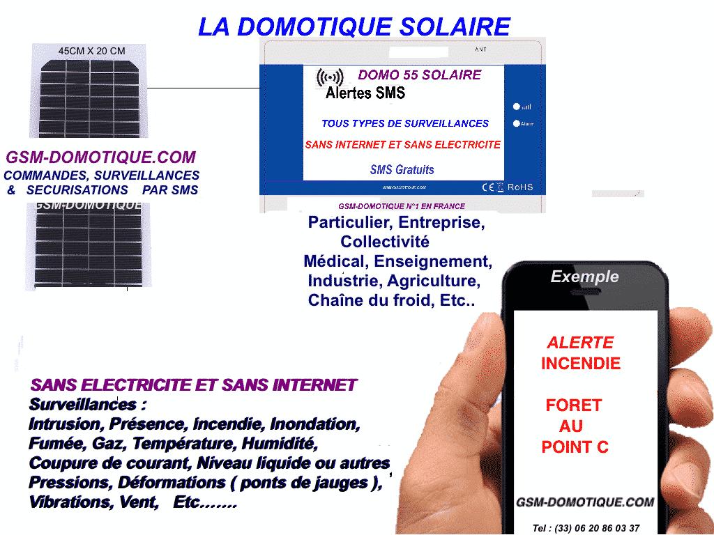 SURVEILLANCE SANS INTERNET ET SANS ELECTRICITE