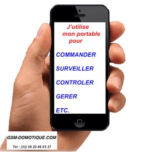 Les solutions domotiques que vous offre votre portable