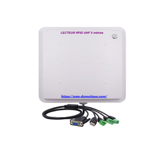 CONTROLE D'ACCES MAINS LIBRES UHF/RFID