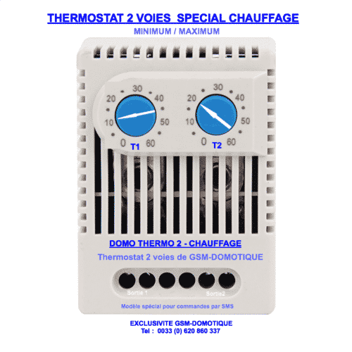 THERMOSTAT-2VOIES-CHAUFFAGE