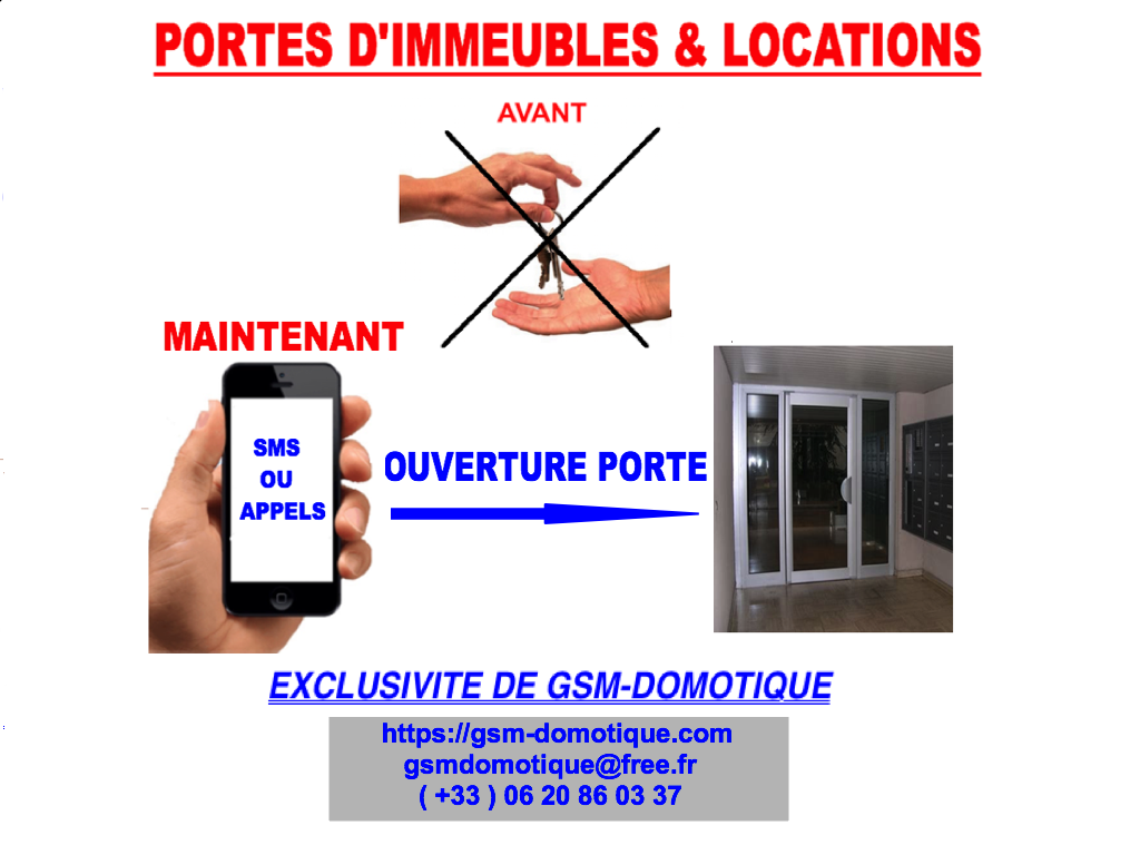 PORTES D'IMMEUBLES ET LOCATIONS, COMMENT FAIRE ?