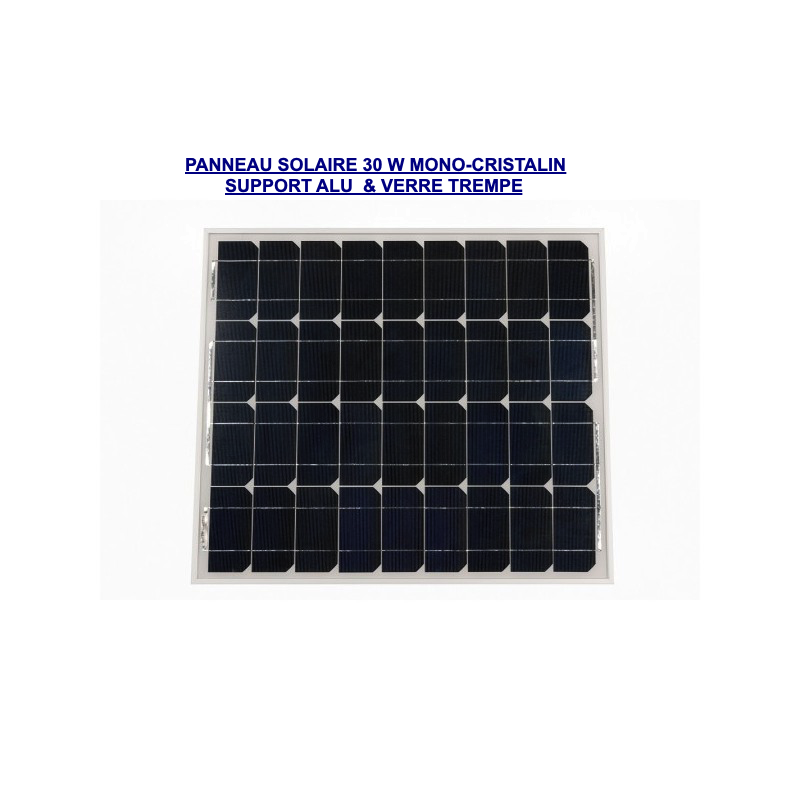 panneau-solaire-30w-de-GSM-DOMOTIQUE