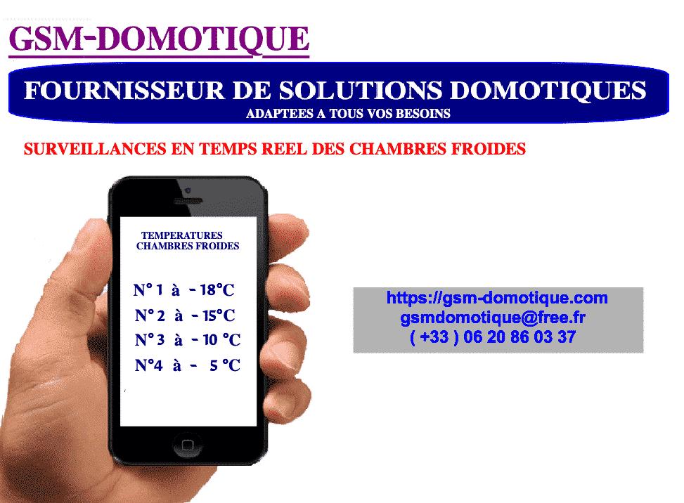 SURVEILLANCES TEMPERATURESPAR SMS