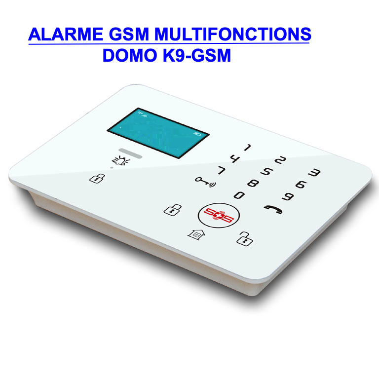 Alarme GSM multifonctions