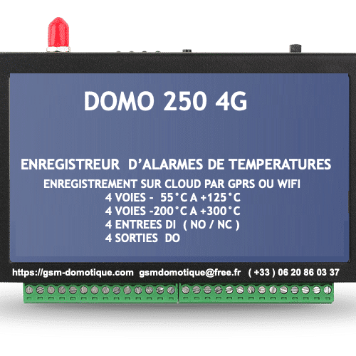 ENRENREGISTREUR-ALARMES-TEMPERATURES-DOMO250