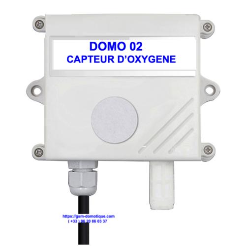 CAPTEUR D'OXYGENE 02 - DOMO 02