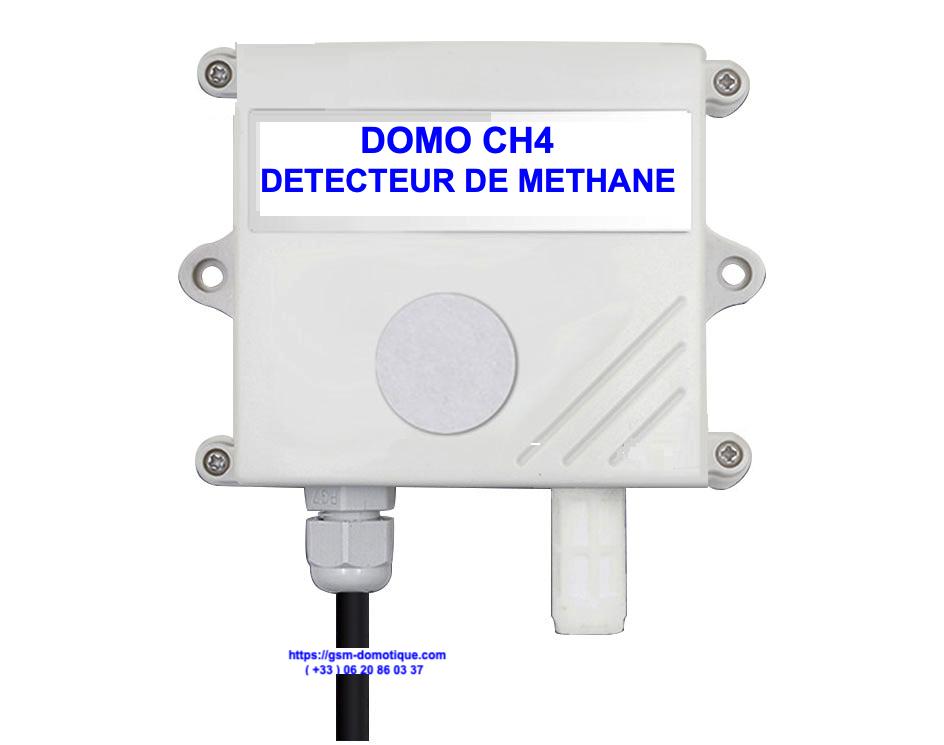 Détecteur de méthane CH4 - DOMO CH4
